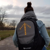 2 - LED backpack