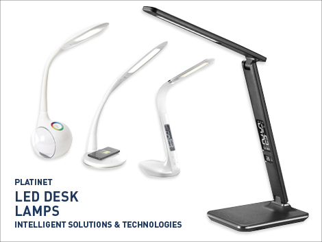 Platinet LED Desk Lamps
